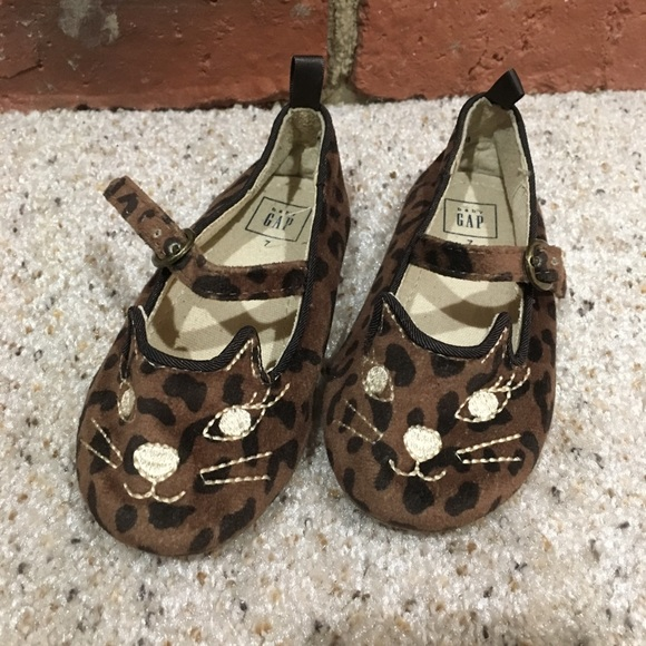GAP Other - Baby Gap Kitty Flats sz 7